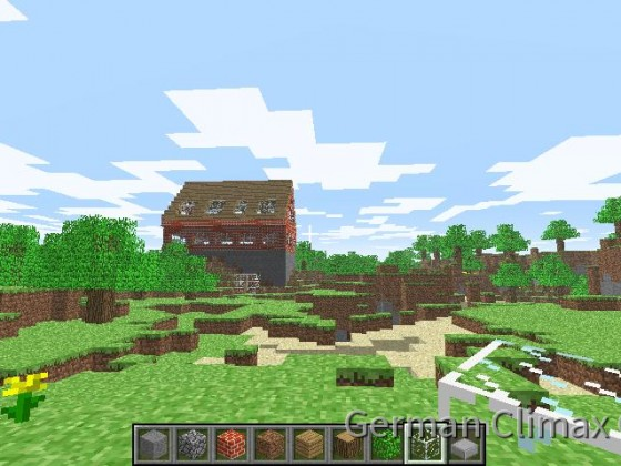 Ach die anfänge in Minecraft
